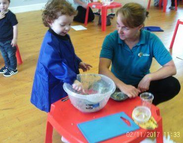 Little Chefs (for children aged 2-4 years)